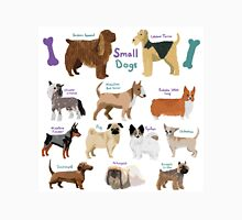 12 Different Small Dogs  Unisex T-Shirt