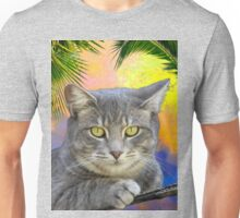 Kitty Kat Under the Palms  T-Shirt