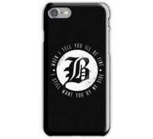 Beartooth The Lines iPhone Case/Skin