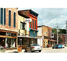 Downtown Polo, Illinois Photographic Print