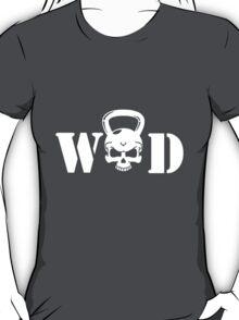 WOD Kettlebell Skull White T-Shirt