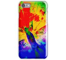 COLOURFUL VIBRANT FLUTTER BUTTERFLY iPhone Case/Skin