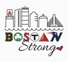 BOSTON Strong Skyline Kids Clothes