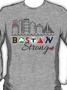 BOSTON Strong Skyline T-Shirt
