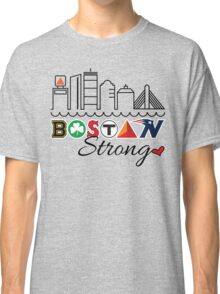 BOSTON Strong Skyline Classic T-Shirt