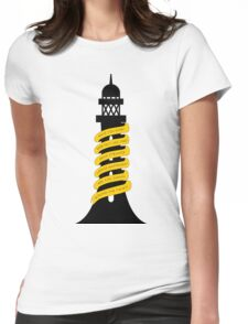 Going Round The Twist Womens Fitted T-Shirt