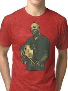Big Bill Broonzy - Blues Guitar Tri-blend T-Shirt