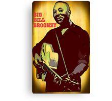 Big Bill Broonzy - Blues Guitar Canvas Print