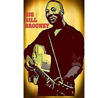 Big Bill Broonzy - Blues Guitar Photographic Print