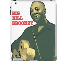 Big Bill Broonzy - Blues Guitar iPad Case/Skin