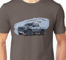 Ford Raptor - raptor dinosaurus background Unisex T-Shirt