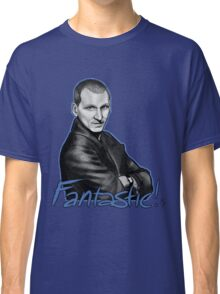 Ninth Doctor Who Christopher Eccleston Fantastic Classic T-Shirt