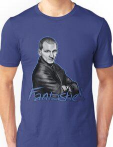 Ninth Doctor Who Christopher Eccleston Fantastic Unisex T-Shirt