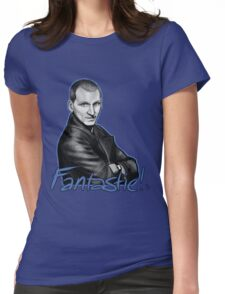Ninth Doctor Who Christopher Eccleston Fantastic Womens Fitted T-Shirt