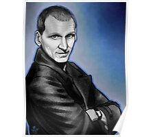 Ninth Doctor Who Christopher Eccleston Fantastic Poster