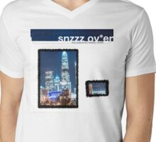 SNZZZOV*EN Lonesome Crowded West Mens V-Neck T-Shirt