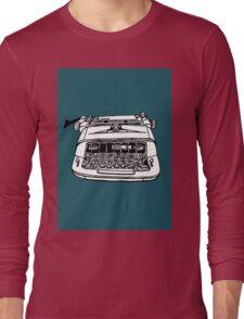 Royal Typewriter Long Sleeve T-Shirt