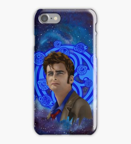 time and space traveller 10th generation iPhone Case/Skin