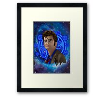time and space traveller 10th generation Framed Print