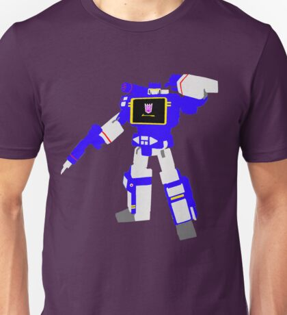 Soundwave Blocky Unisex T-Shirt