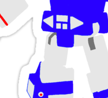 Soundwave Blocky Sticker