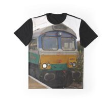 GBRf 66711 'Sence' at Peterborough Graphic T-Shirt