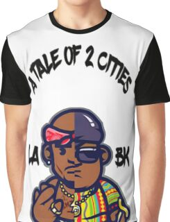 A Tale Of 2 Cities Graphic T-Shirt