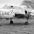 Fairey Gannet AEW3 derelict aircraft by RedSteve