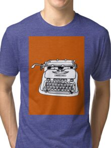 Hermes Typewriter Tri-blend T-Shirt