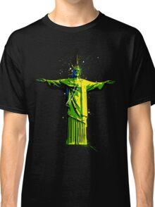 Men's Rolling Souls Christ The Redeemer T-shirt  Classic T-Shirt