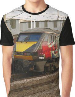 Virgin Trains East Coast 91111 at Peterborough Graphic T-Shirt