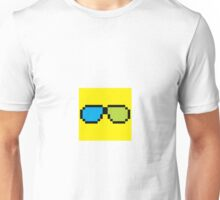 8-bit Sunglasses Emoji Unisex T-Shirt