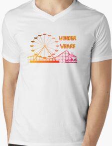 Wonder Wharf Mens V-Neck T-Shirt
