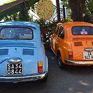 Fiat 500 by Christine Anna Wilson