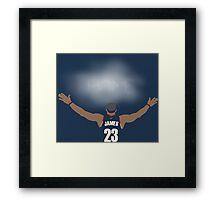 James Return to Cavaliers Framed Print