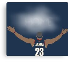 James Return to Cavaliers Canvas Print