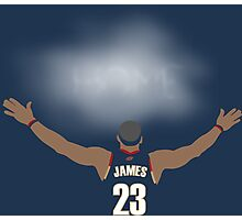 James Return to Cavaliers Photographic Print