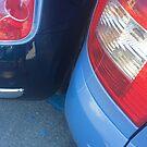 My Husband Parking a Car!! by Christine  Wilson