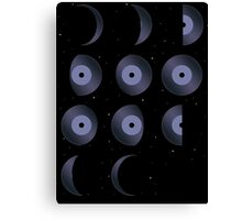 Phases of the Tune Canvas Print