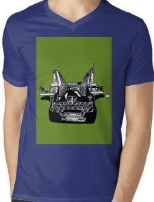 Oliver Typewriter Mens V-Neck T-Shirt