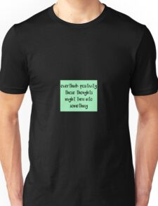 Overthink Positivity Unisex T-Shirt