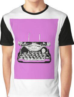 Corona Typewriter Graphic T-Shirt