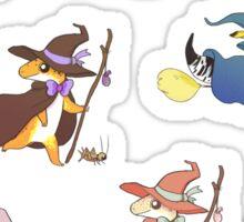 Wizard Geckos! Sticker