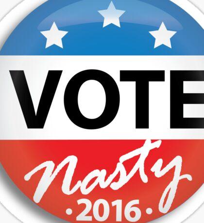 Vote Nasty Sticker