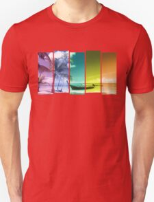 Colorful Beach Unisex T-Shirt