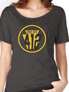 Pittsburgh 412 Proud Women's Relaxed Fit T-Shirt