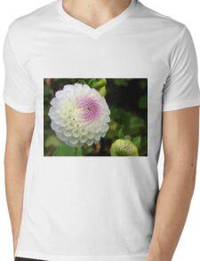 Quintessential dahlia Mens V-Neck T-Shirt