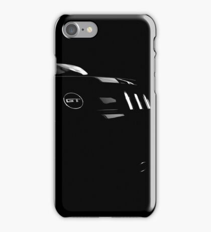 ford mustang gt, mustang gt shirt iPhone Case/Skin
