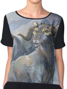tauntaun - monarch of hoth Chiffon Top