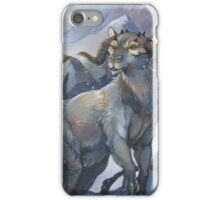 tauntaun - monarch of hoth iPhone Case/Skin